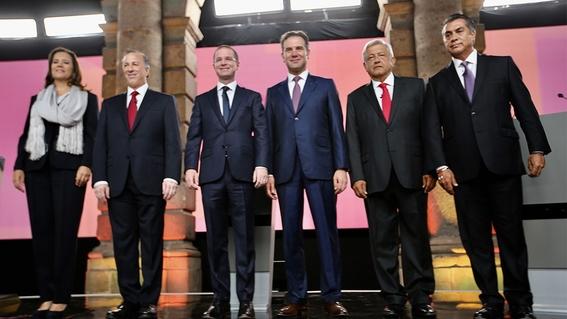 transmision segundo debate presidencial 1