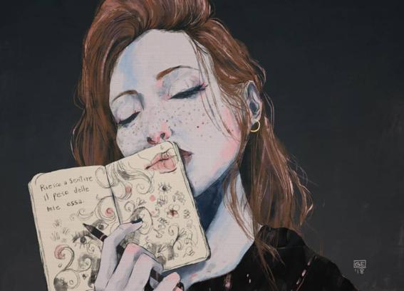 ilustraciones de mujeres 2