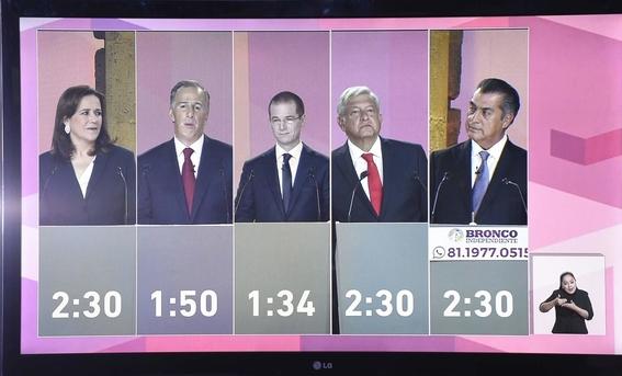 rating del segundo debate presidencial 2