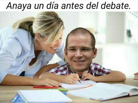 memes del segundo debate presidencial 1