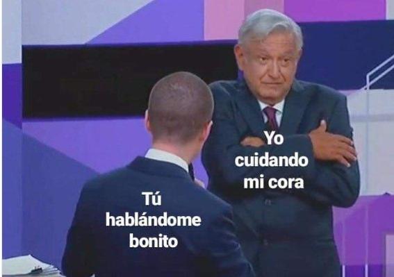 memes del segundo debate presidencial 19