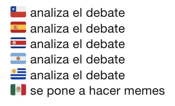 memes del segundo debate presidencial 20