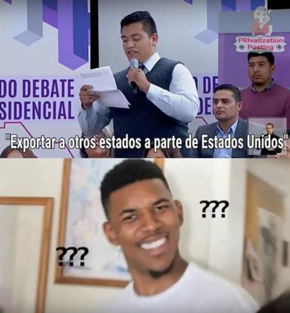 memes del segundo debate presidencial 25