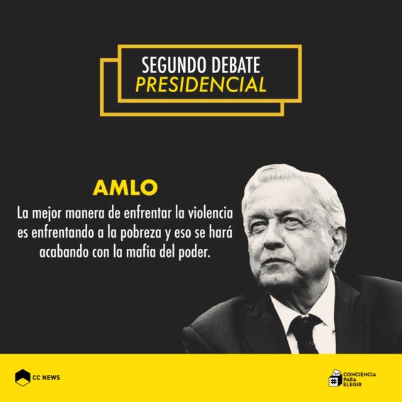 andres manuel lopez obrador segundo debate presidencial 3