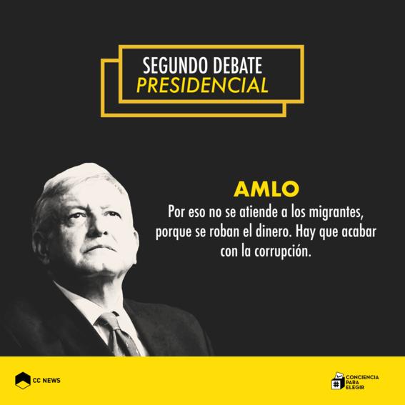 andres manuel lopez obrador segundo debate presidencial 4