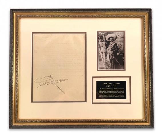 subastan carta firmada por emiliano zapata 2