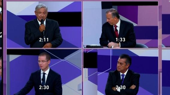 audiencia baja segundo debate presidencial 2