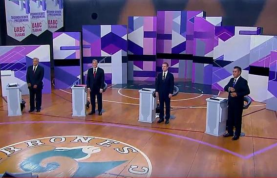 audiencia baja segundo debate presidencial 3
