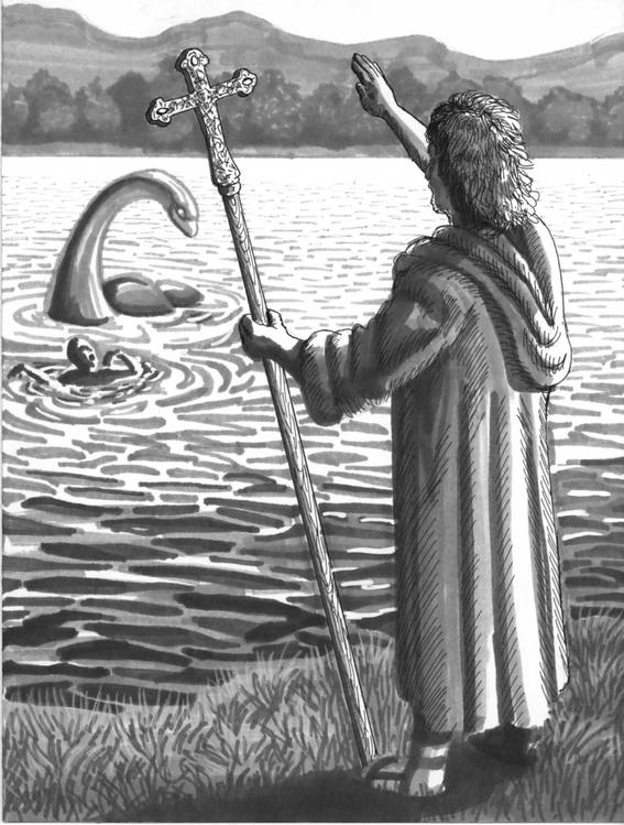 buscan al monstruo del lago ness con adn 2