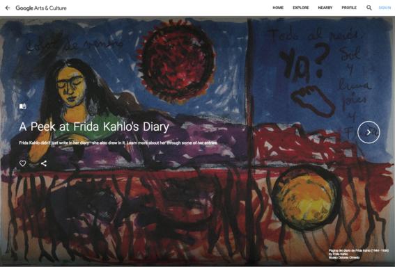 google arts  culture frida kahlo 8