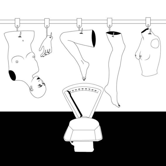elle hell broken girls illustration 2