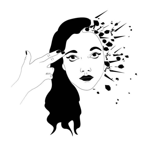 elle hell broken girls illustration 11