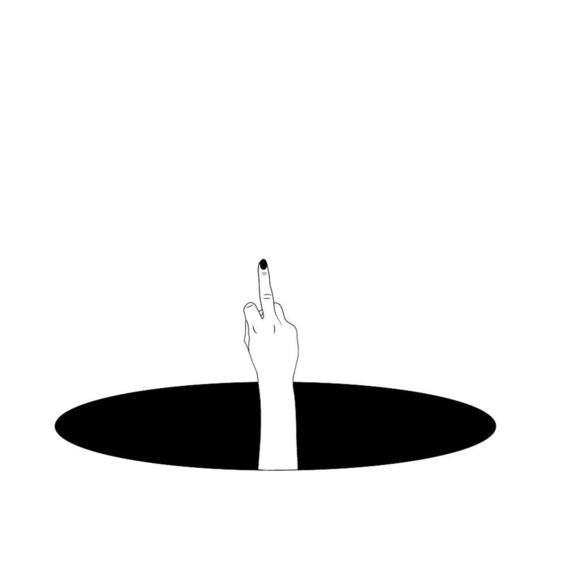 elle hell broken girls illustration 17
