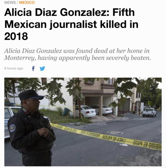 asesinato de periodista alicia diaz gonzalez 1