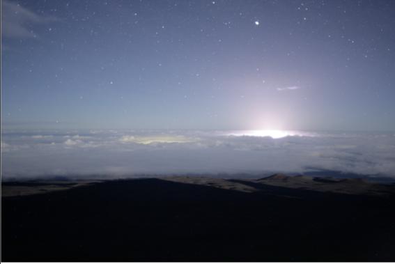resplandores de la erupcion del volcan kilauea en hawai 1