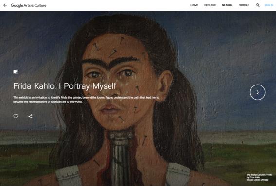 google arts  culture frida kahlo 2