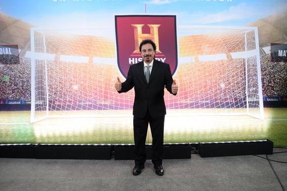 hugo sanchez sera embajador de history futbol 1
