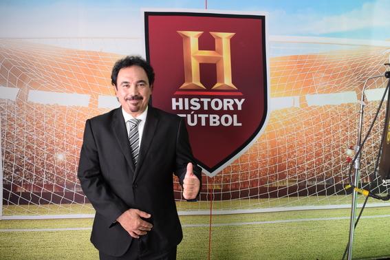 hugo sanchez sera embajador de history futbol 2