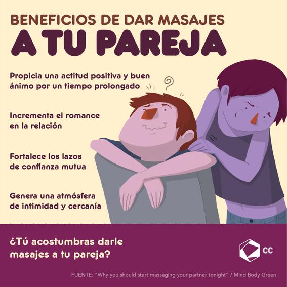 beneficios de dar masaje a tu pareja 1