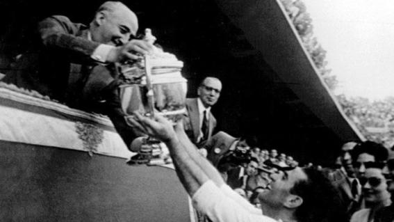 madrid gano sus primeras 6 copas de europa gracias a francisco franco 1