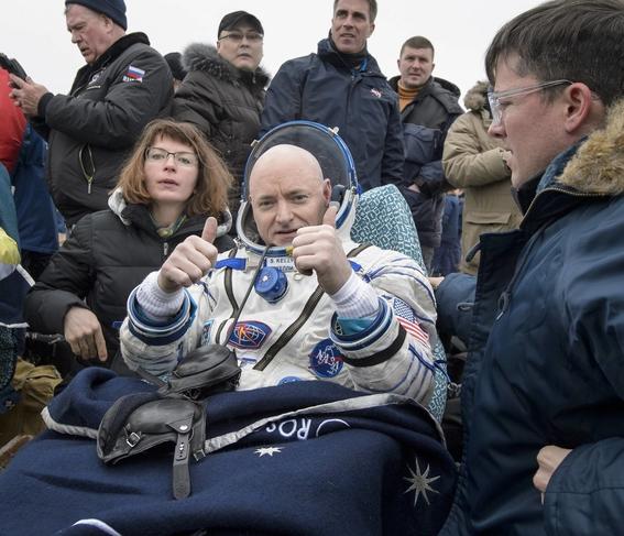 scott kelly vivio un ano solo en el espacio 1