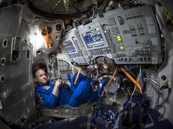 scott kelly vivio un ano solo en el espacio 2