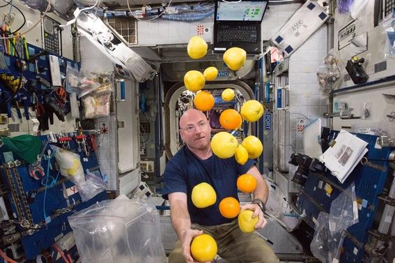 scott kelly vivio un ano solo en el espacio 3