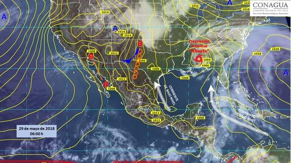 ola de calor afectara gran parte de mexico 1