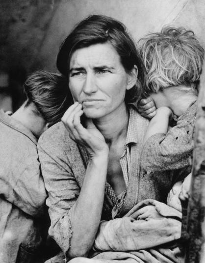 fotografias sobre la gran depresion y el new deal 4