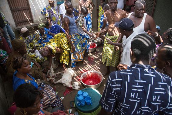 rituales vudu en africa fotos james hopkirk 2