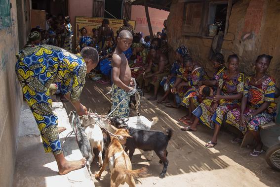 rituales vudu en africa fotos james hopkirk 5