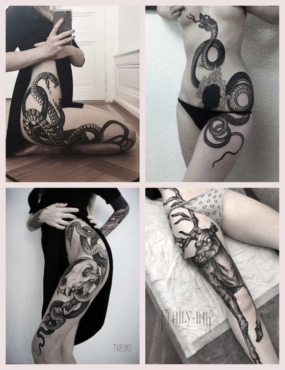 tatuajes en los muslos 3