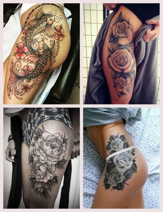 tatuajes en los muslos 5