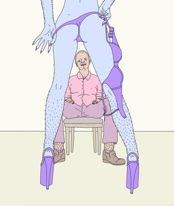 ilustraciones de exotic cancer sobre prostitucion 3