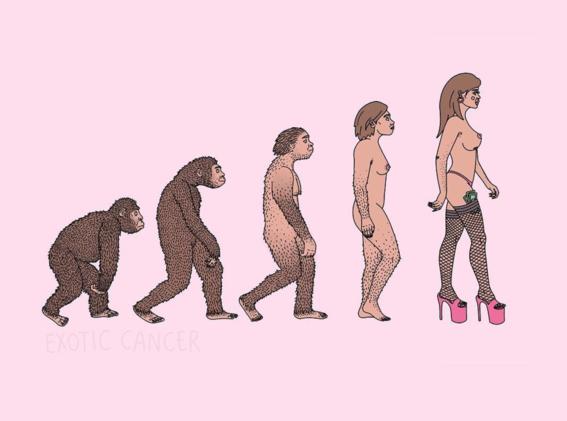 ilustraciones de exotic cancer sobre prostitucion 6