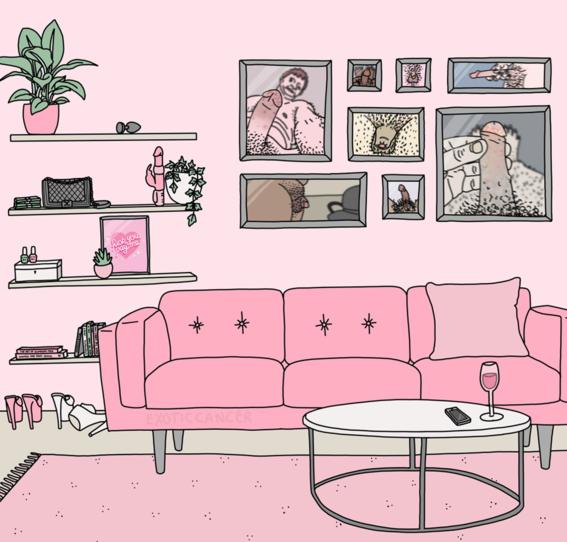 ilustraciones de exotic cancer sobre prostitucion 7