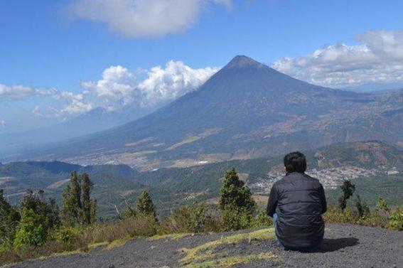 antes y despues de la erupcion en guatemala 1