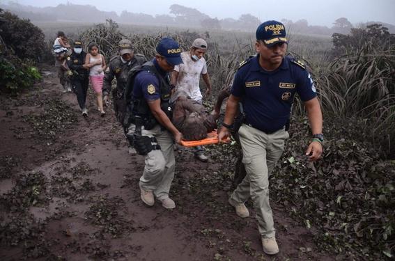 antes y despues de la erupcion en guatemala 17