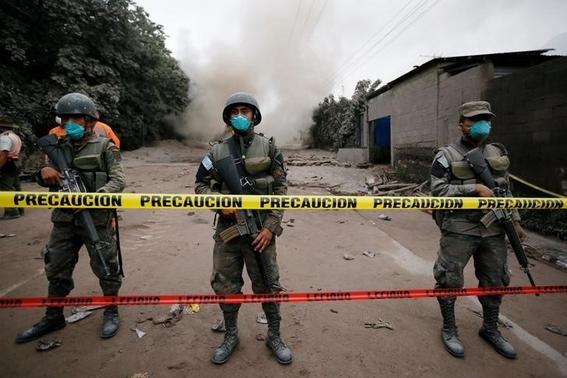 consecuencias de la erupcion del volcan de fuego 3