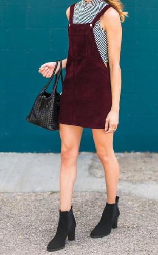 formas de combinar botas y vestido 18
