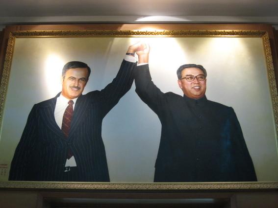 posible reunion entre kim jongun y assad 2