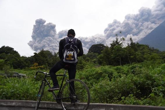 imagenes de erupcion volcanica en guatemala 1