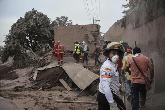 imagenes de erupcion volcanica en guatemala 2