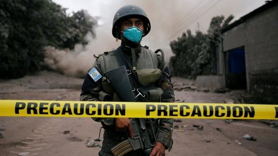 imagenes de erupcion volcanica en guatemala 4