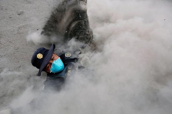 imagenes de erupcion volcanica en guatemala 5
