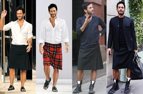 maneras en que un hombre puede usar falda 3
