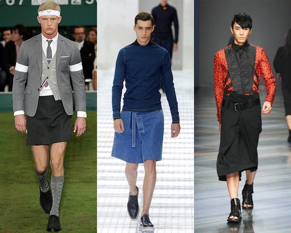 maneras en que un hombre puede usar falda 4