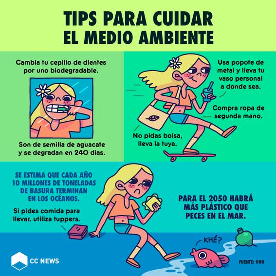 tips para cuidar el medio ambiente 1