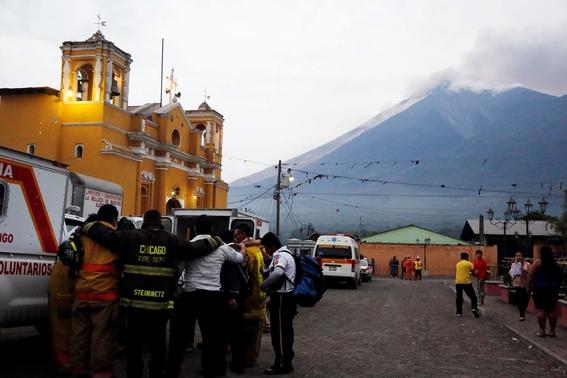 historia del volcan de fuego en guatemala 1