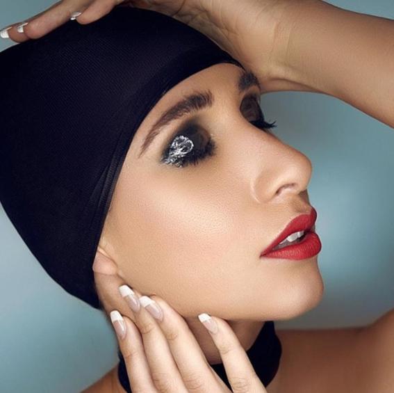 glossy eyeshadows trend 4